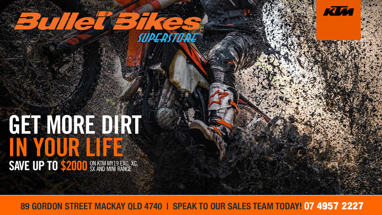 SAVE UP TO $2000 ON KTM MINI, SX, EXC AND XC RANGES