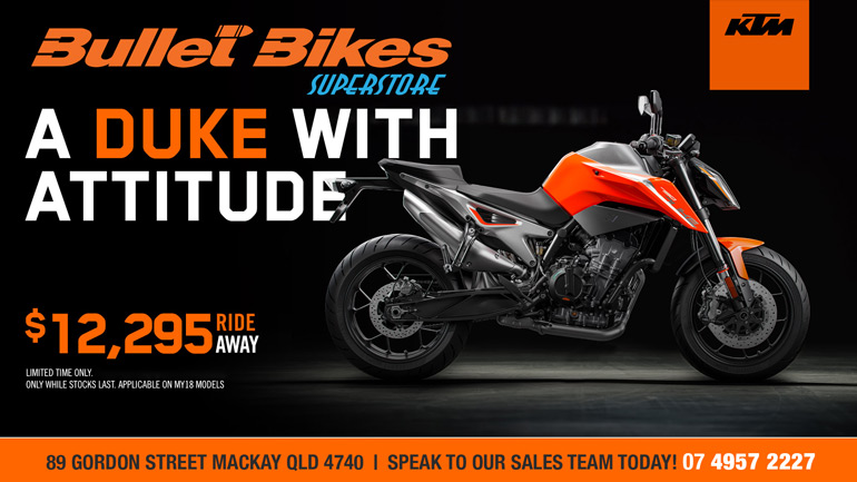 LIMITED TIME OFFERS ON OUR MY18 DUKE RANGE